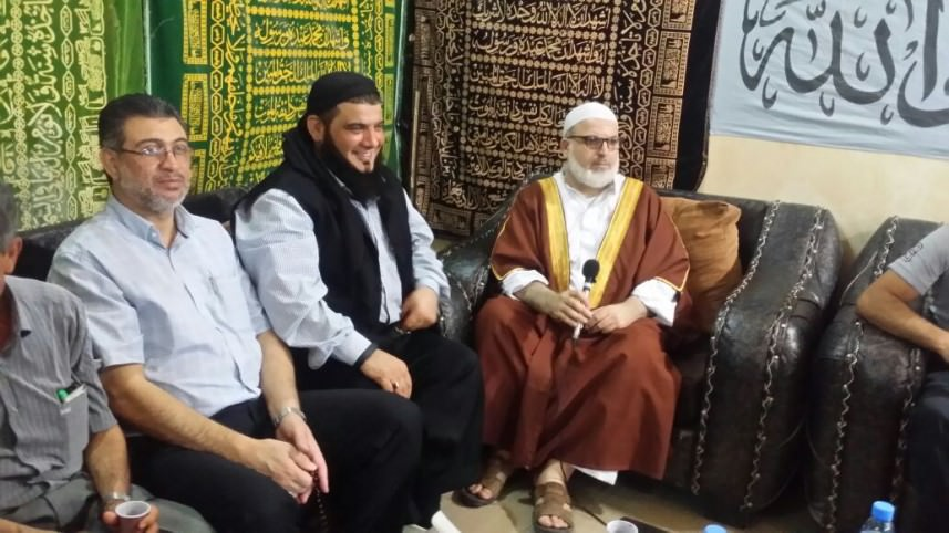 الجهاد تشارك عصبة الأنصار بـعين الحلوة في حفل الاستقبال بمناسبة عيد الأضحى