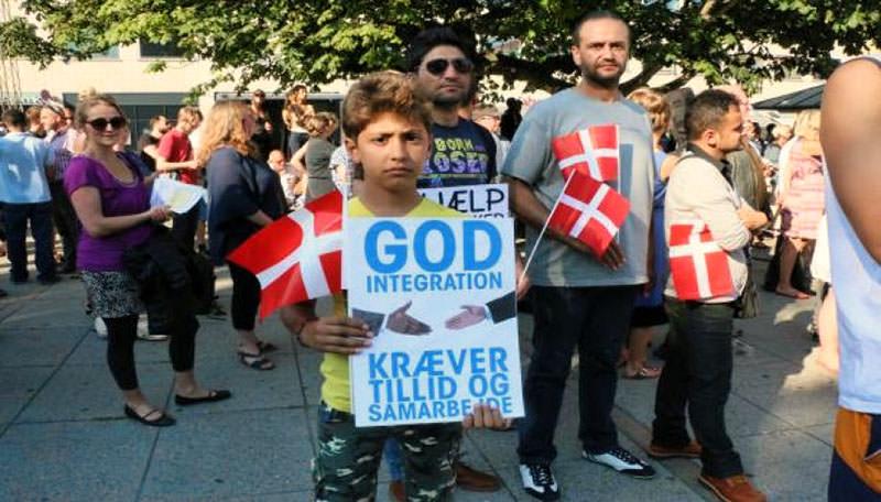 اعتصام في الدنمارك ضد قرارات الحكومة بحق اللاجئين الفلسطينيين