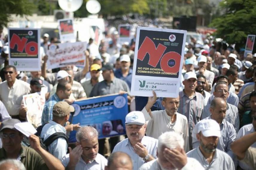 إضراب جزئي لموظفي الأونروا الإثنين