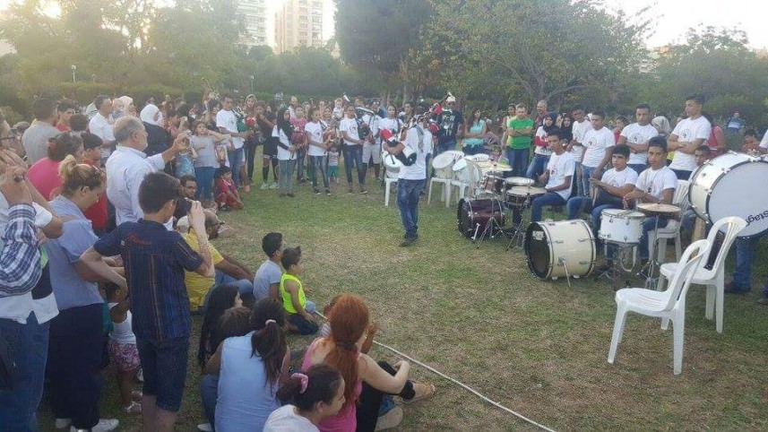 أطفال الصمود تقدم معزوفات تراثية بحرج بيروت والرشيدية