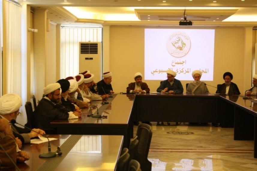 تجمع العلماء المسلمين ||  لتصعيد المقاومة الفلسطينية بوجه العدو الصهيوني