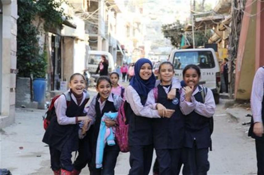 استئناف التعليم في مدارس مخيم عين الحلوة غداً