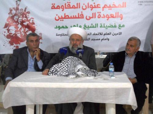 ندوة فكرية لمسيرة العودة / المخيم عنوان المقاومة الى فلسطين