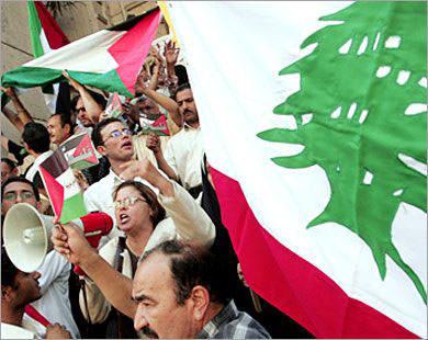 الجبهة الديمقراطية طالبت بتعزيز العلاقة الفلسطينية اللبنانية
