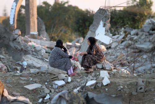 أبو حسنة / الأونروا أنهت 85% من عملية تقييم أضرار العدوان