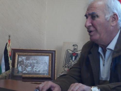 اللواء أبو عرب يستقبل نائب وزير الدفاع الكردي في عين الحلوة