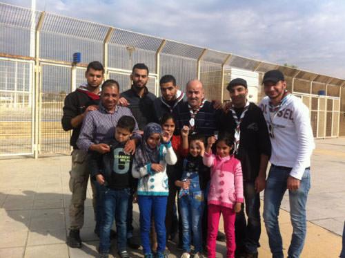 نشاط كشفي تضامناً مع القضية الفلسطينية