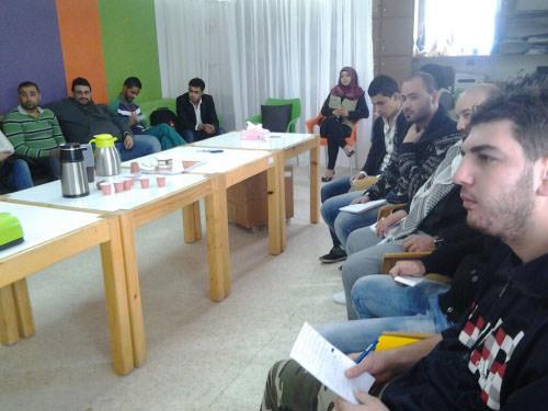 حوار شبابي حول مشاركة العمل الشبابي في اللجنان الأهلية والشعبية