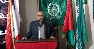 الجهاد تهنئ حماس بذكرى انطلاقتها في مخيم البداوي