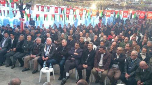 الشعبية تحتفل بانطلاقتها في مخيم نهر البارد