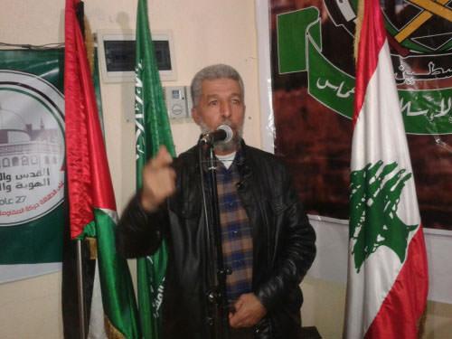 حركة حماس تستقبل المهنئين بذكرى انطلاقتها 27 في مخيم نهر البارد