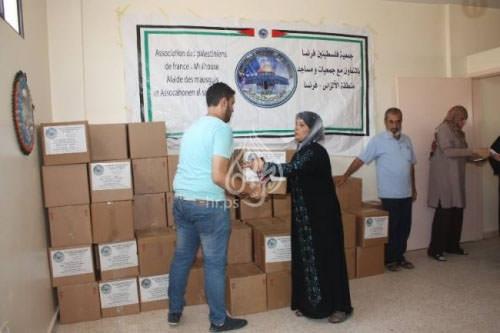 فلسطينيو فرنسا يبحثون مع البزري امكانية تطوير وضع فلسطيني صيدا
