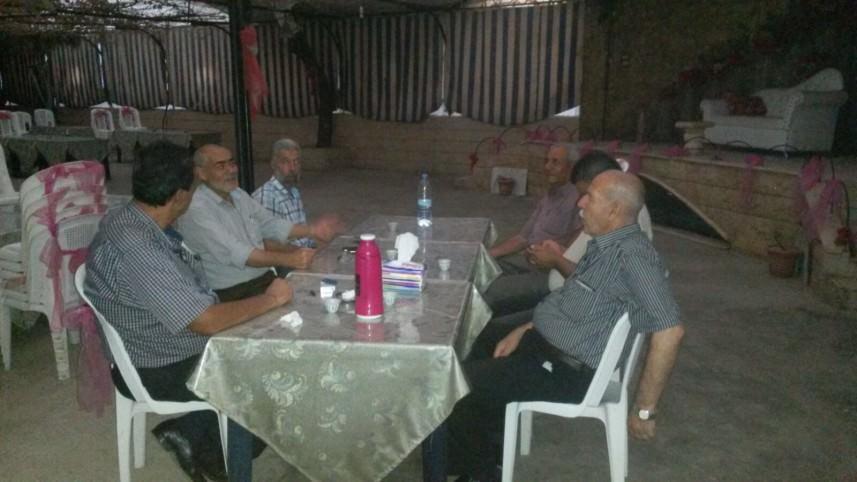 لجنة المباني المهدمة مخيم نهر البارد تبحث الهبات المقدمة