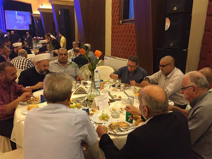 مشاركة قيادات فلسطينية بإحتفال جمعية المشاريع الخيرية الاسلامية بذكرى رأس السنة الهجرية