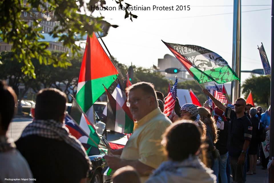 صور من مظاهرة أميركا [ هيوستن ] دعماً لأهلنا في فلسطين