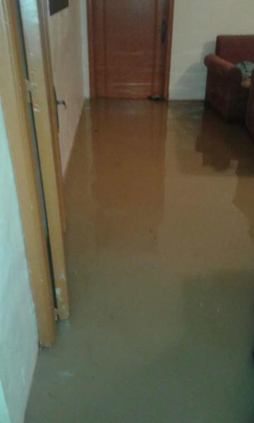 الامطار تسبب باضرار كبيرة في مخيم البداوي