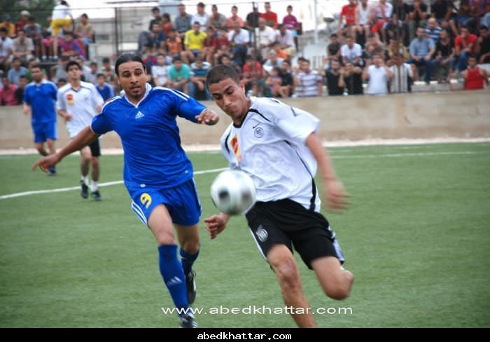 فريق الضفة نهر البارد يفوز على فريق اشبال فلسطين الرياضي