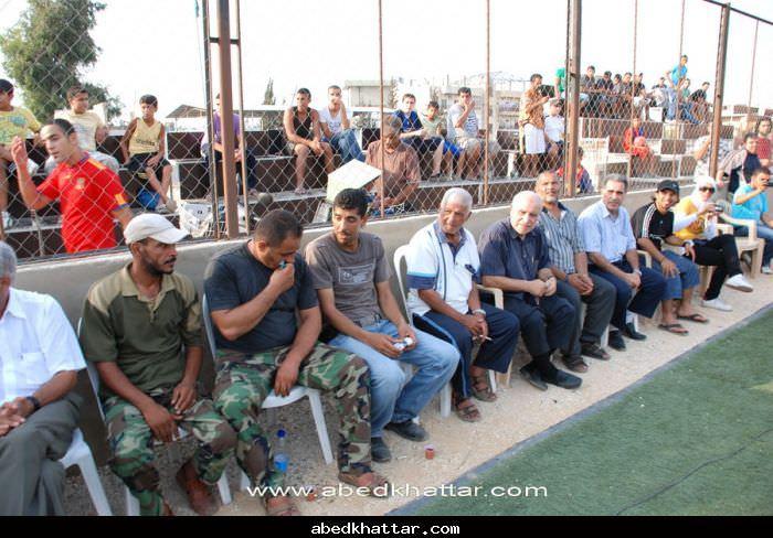 فوز فريق القدس على فريق الصمود في افتتاحيت دورة الشهيد ابو علي مصطفى