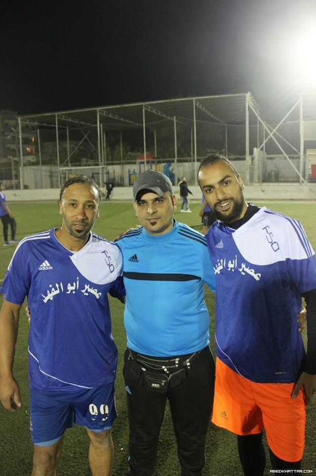 فوز نادي القدس على نادي شبيبة فلسطين بكأس ذكرى الشهيد علي عيادي