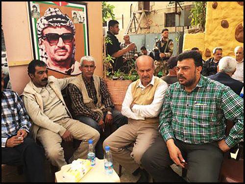 انطلاقة جبهة التحرير العربية السابعة والاربعين في مخيم البداوي