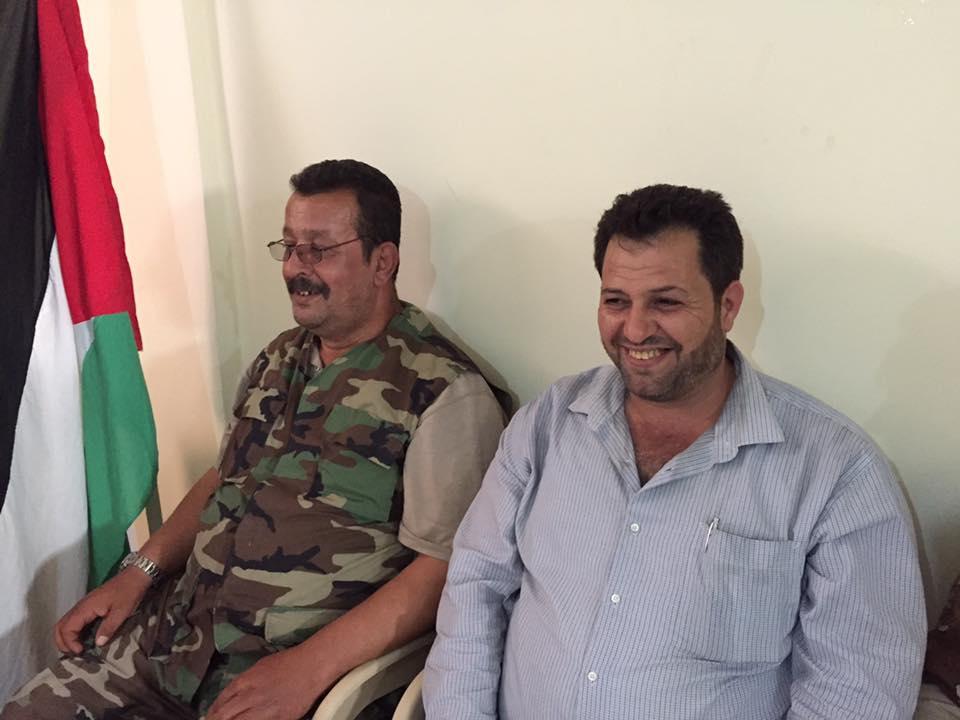 حفل استقبال سياسي في مخيم البداوي بمناسبة الذكرى 51 لانطلاقة القيادة العامة