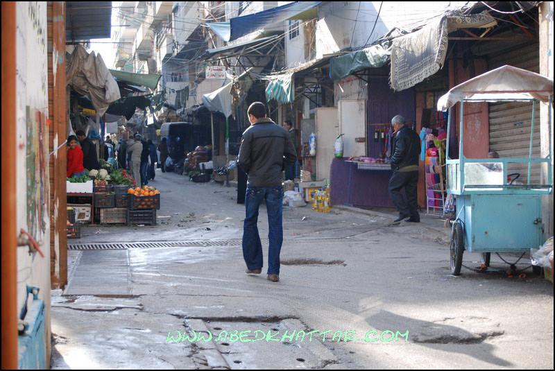 نتابع معكم صور من داخل مخيم البداوي 2009