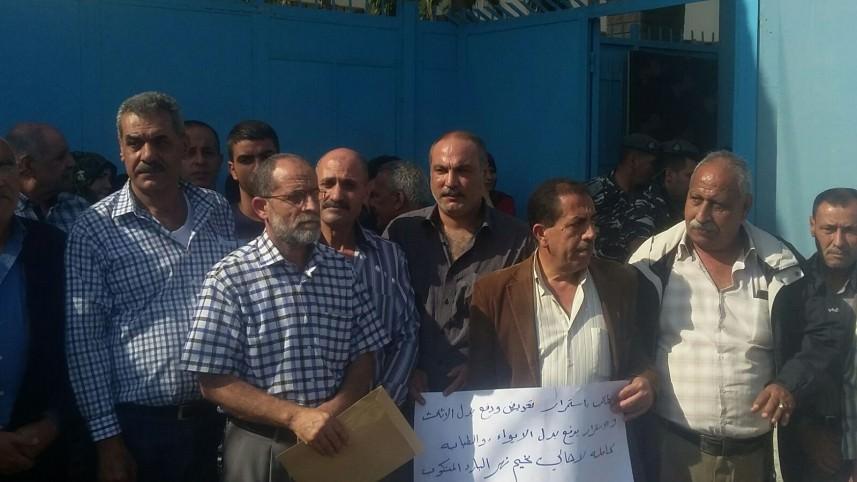 اعتصام لأهالي مخيم البارد في بيروت تأكيد على المطالب المحقة