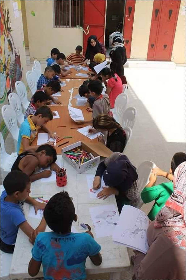 مؤسسة بيت اطفال الصمود في مخيم البداوي تحيي يوم اللاجئ العالمي