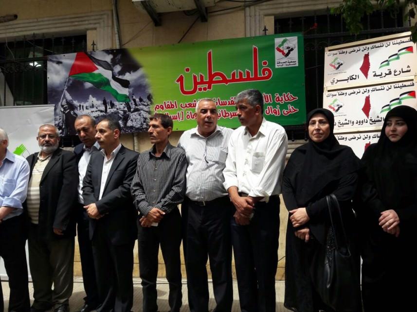 مهرجان في مخيم برج البراجنة إحياء لذكرى النكبة