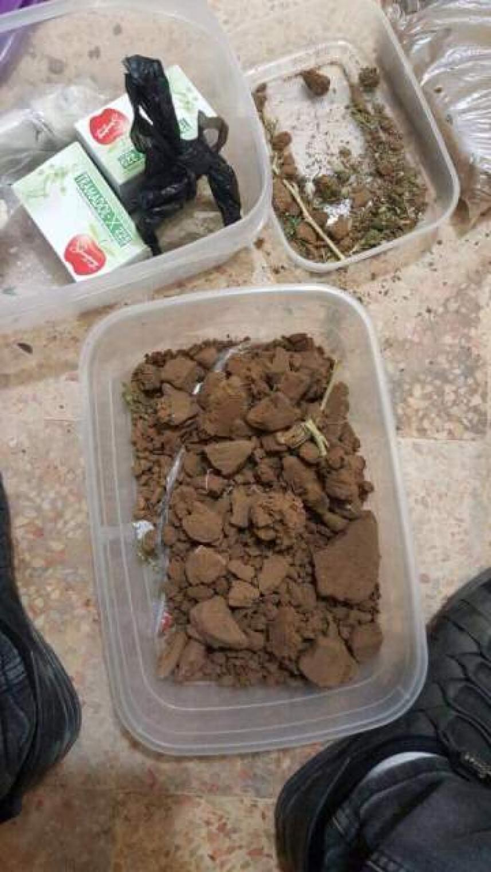 توقيف عصابة تهريب وترويج مخدرات في مخيم برج البراجنة