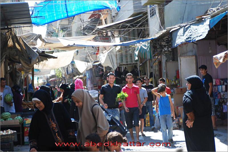 صور من مخيم البداوي قبل [ عيد الفطر 2010 ]