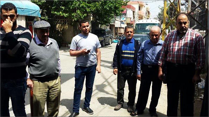 اعتصام في البص احتجاجاً على قرارات الأونروا المجحفة بحق الفلسطينيين