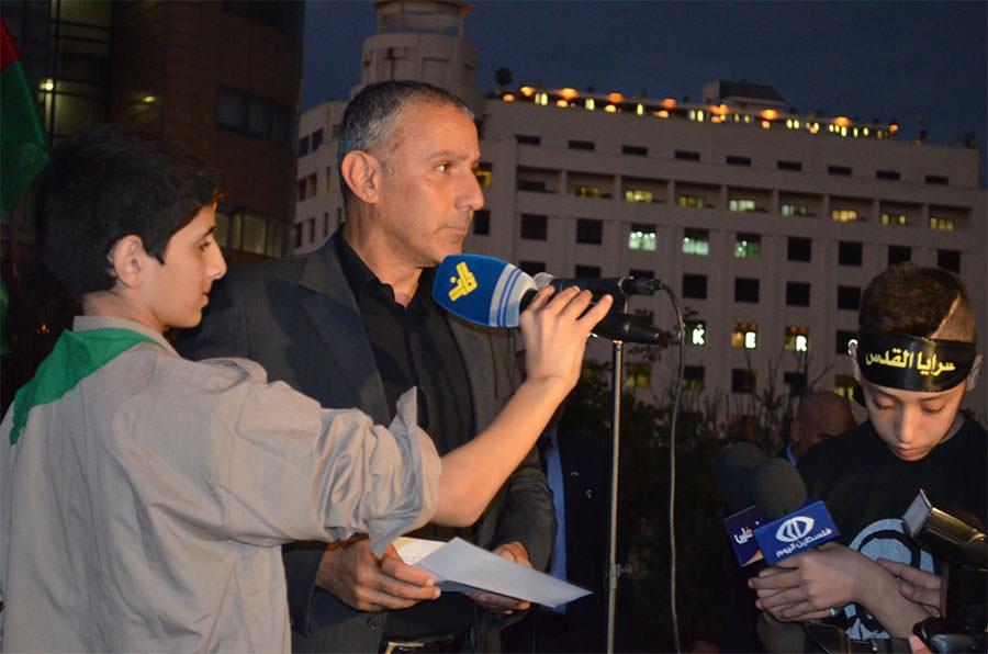 بيروت تهتف للقدس | الانتفاضة ستستمر وعلينا أن نواجه العدو ككتلة واحدة