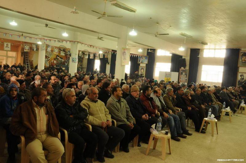 حركة فتح في الشمال تحيي ذكرى انطلاقتها 49 في مخيم البداوي