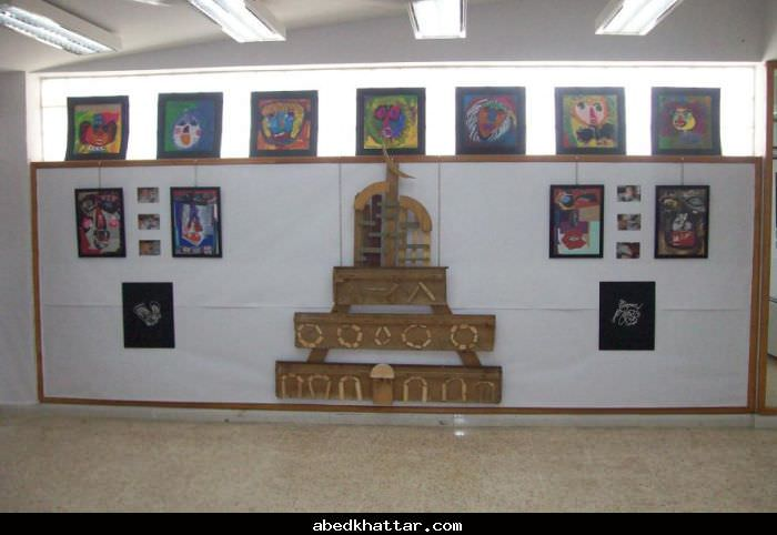 مؤسسة غسان كنفاني مركز البداوي تقيم معرض اطفالنا الفني السنوي