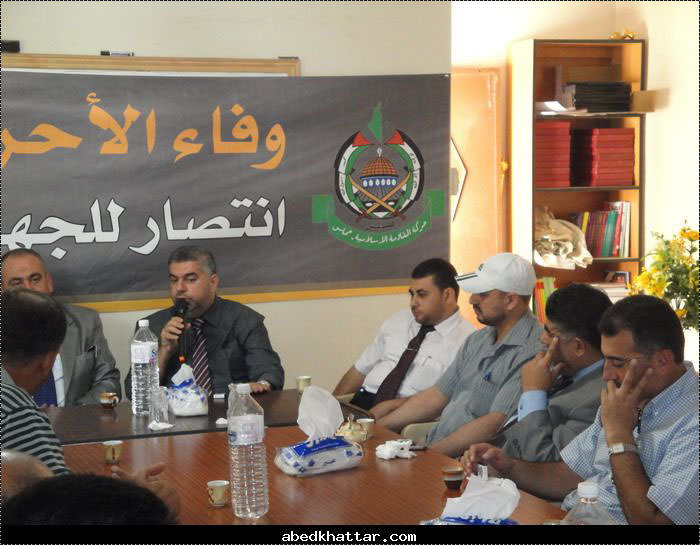 حماس تستقبل وفدًا من اتحاد بلديات ساحل ووسط القيطع في عكار