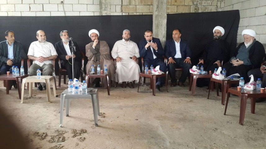 الجهاد تقدم واجب العزاء لمسؤول العلاقات العامة في حزب الله بالنبطية