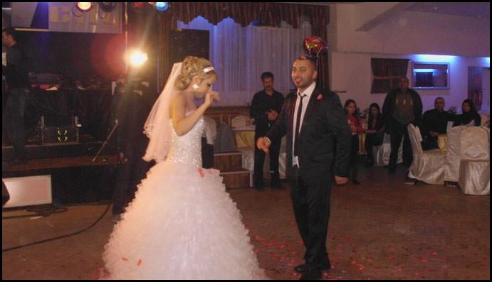 الف مبروك للعروسين حسام علوان من مخيم البداوي وليلى زيدان من برلين