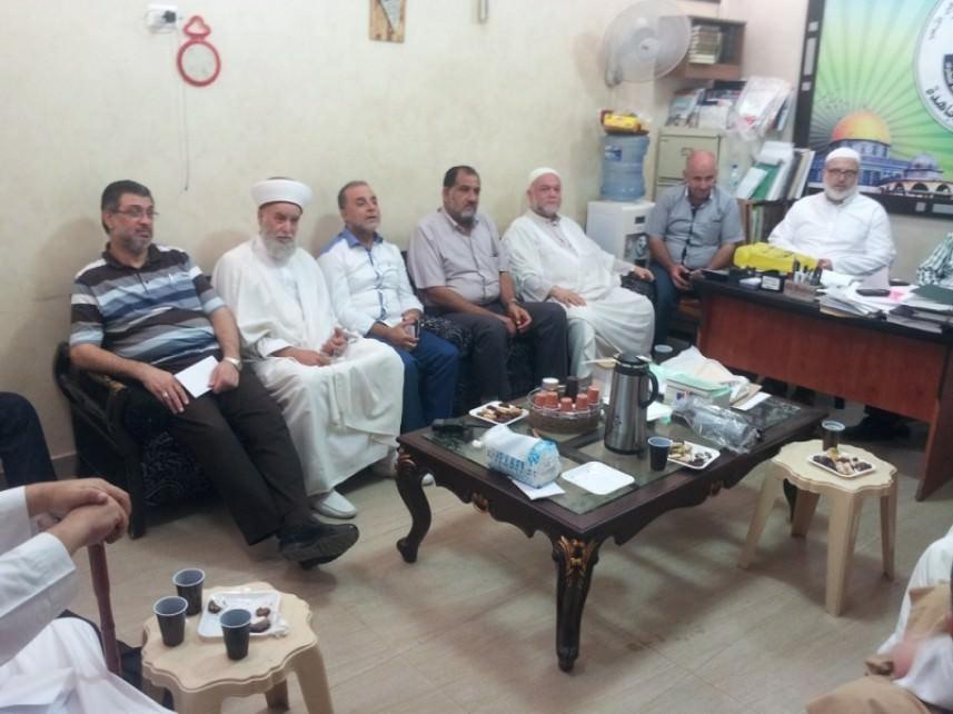 لقاء تشاوري جامع بين القوى الإسلامية في عين الحلوة ورابطة علماء فلسطين