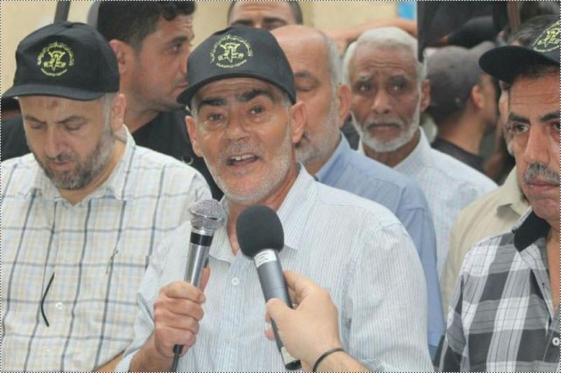 مسيرة جماهيرية حاشدة للجهاد الإسلامي في مخيم البداوي