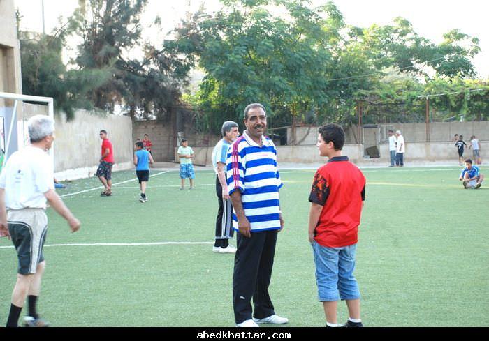 مباراة بين قدماء شبيبة فلسطين والمسافرين من نادي شبيبة فلسطين