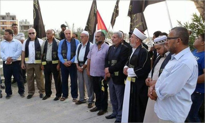 الجهاد تحيي ذكرى انطلاقتها واستشهاد مؤسسها الشقاقي في مخيم الرشيدية