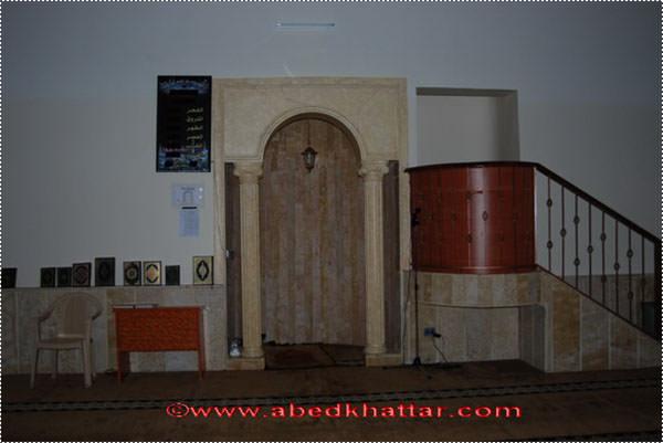 انشاء مسجد الصحابي الجليل معاذ بن جبل في مخيم البداوي