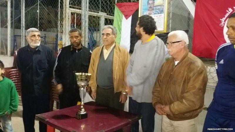 فوز شبيبة فلسطين على نادي القدس بكأس الشهيد نبيل السعيد