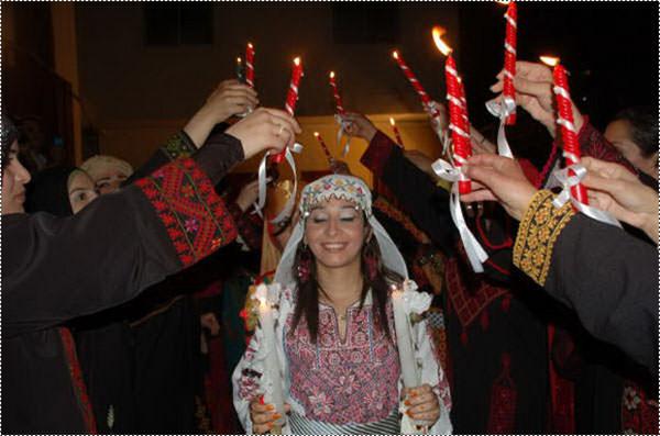 سهرة فلسطينية في مخيم البداوي للعروس ناديا دهيدي