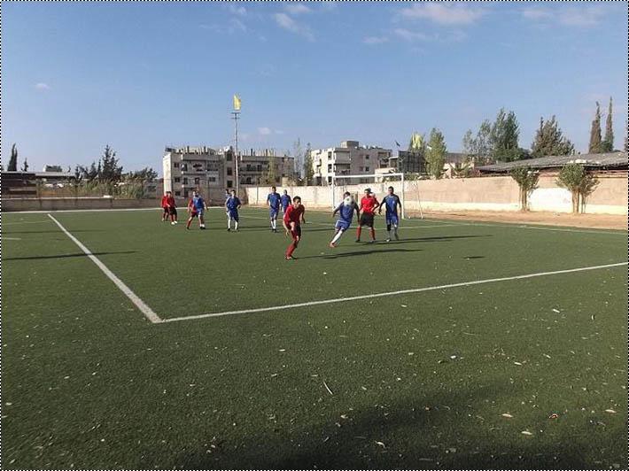 فوز نادي الخالصة على نادي النضال ضمن دوري الاتحاد الفلسطيني