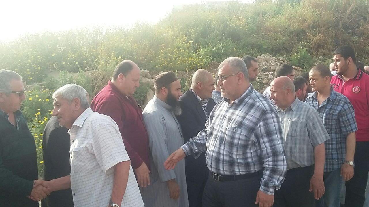 حركة الجهاد تشيع والد الشهيد حمدي في مخيم نهر البارد