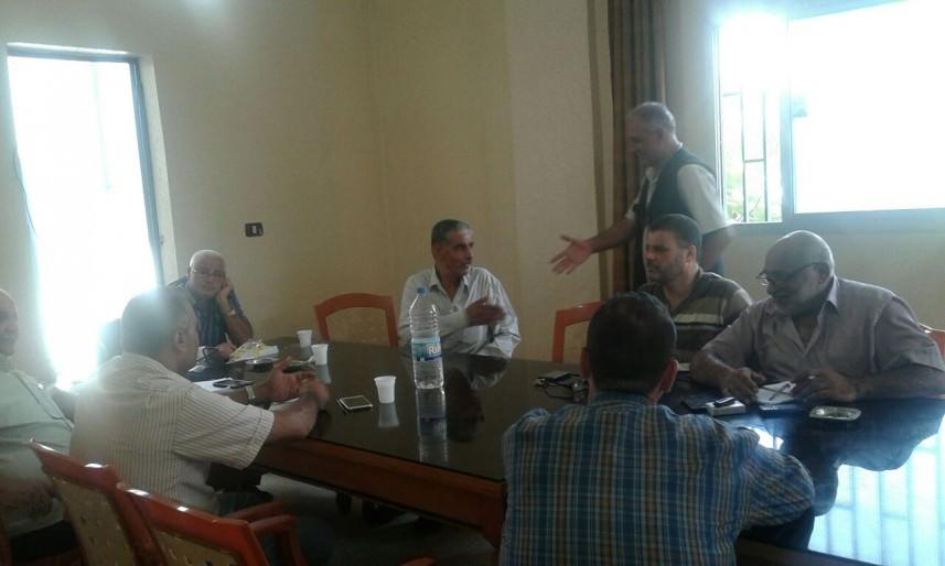 اللجنة الشعبية تلتقي الاونروا || مشاريع لحل مشكلة المياه المالحة في البارد