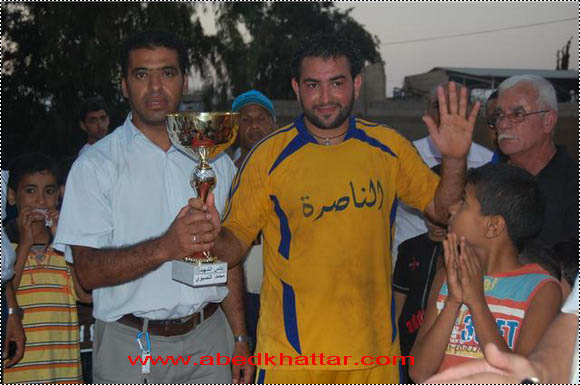 كأس الشهيد محمد انصيو في مخيم البدواي