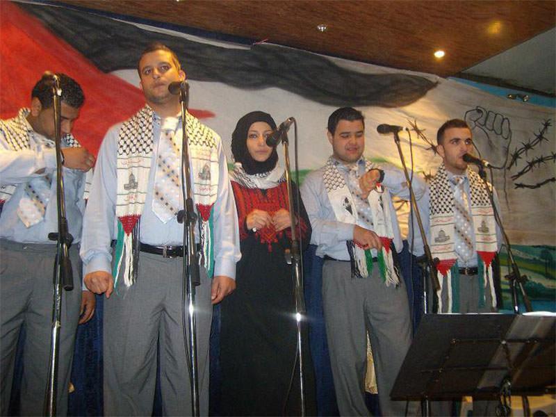مهرجان للنادي الثقافي الفلسطيني العربي ... وفرقة عشاق الاقصى